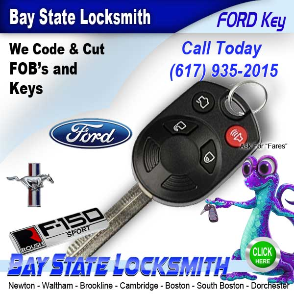 Ford Car Locksmith Waltham 617 935 2015 Call Baystate Locksmith